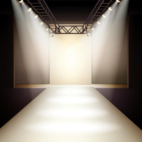 Fashion Runway Hintergrund vektor