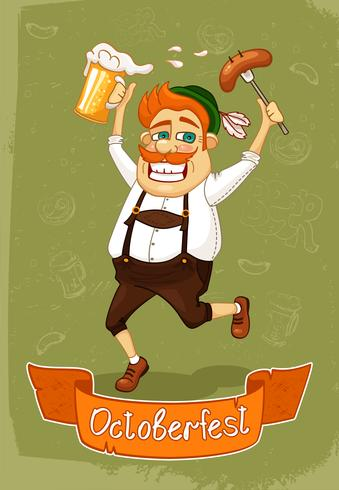 Oktoberfest-Poster vektor