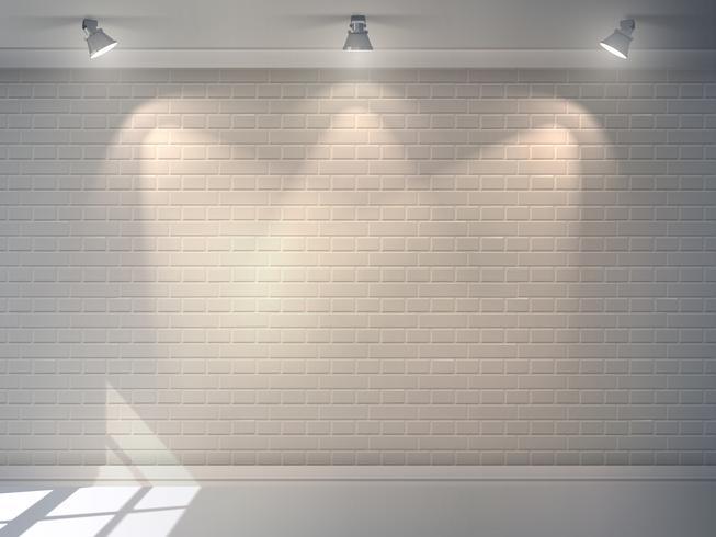 Ziegelmauer realistisch vektor