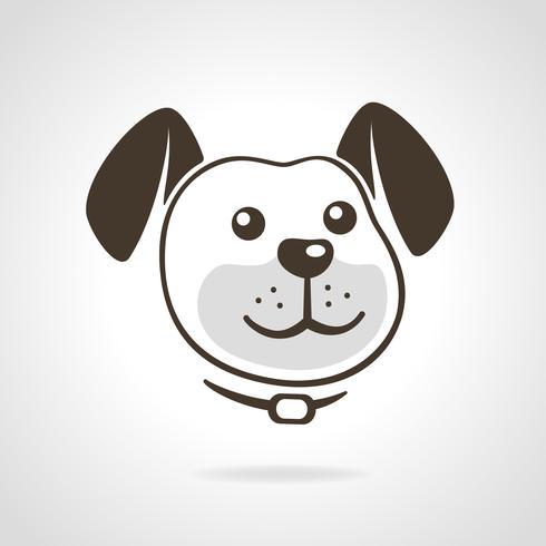 Hund-Symbol vektor