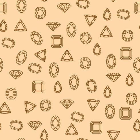 Diamanter mönster vektor