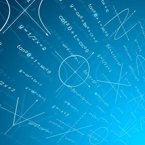 Hintergrund der mathematischen Perspektive vektor