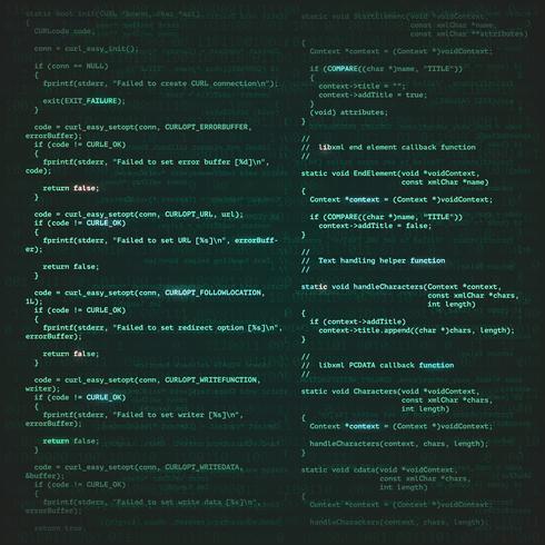 mjukvaruutveckling bakgrund vektor