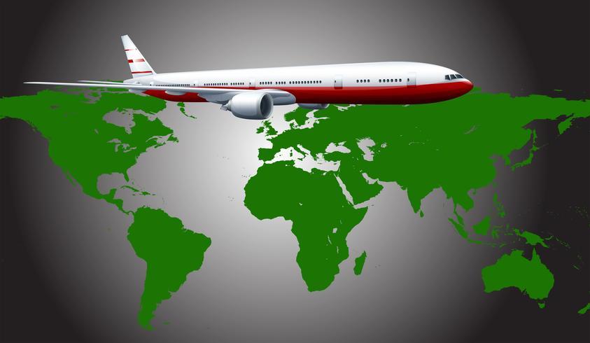 Flygplan vektor