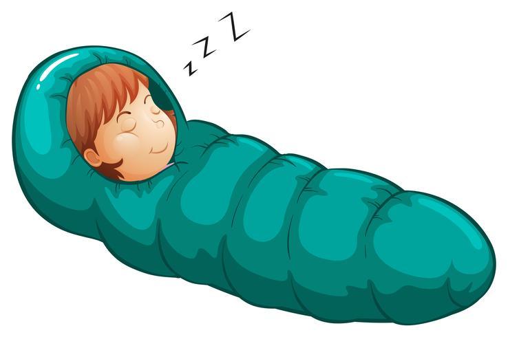 Sovsäck vektor