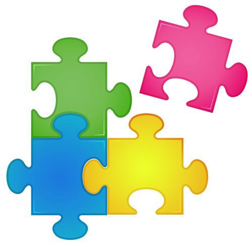 Puzzle vektor