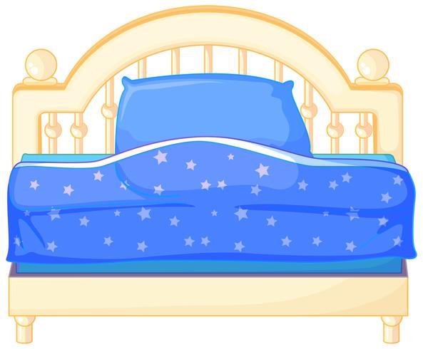 Säng vektor