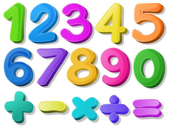 Nummer vektor