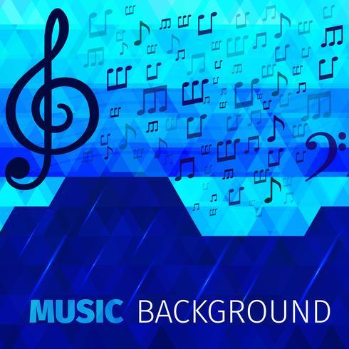 Musik abstrakt bakgrund vektor
