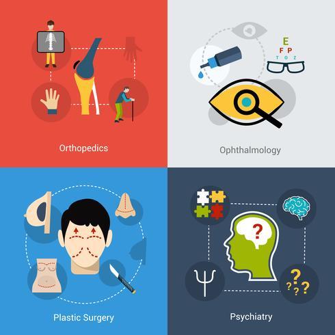 Medicinska ikoner vektor