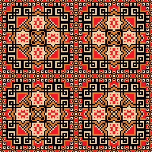 Sömlös bakgrund i orange, violett, röd och gul färger vektor