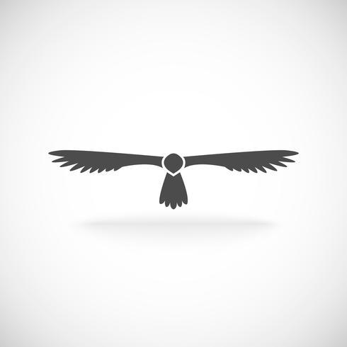 Adler-Symbol vektor