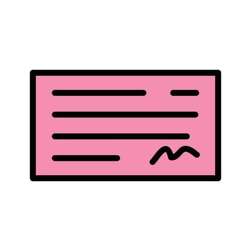Vektor-Check-Symbol vektor