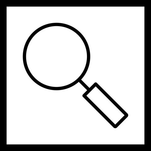 Vektor-Suchsymbol vektor