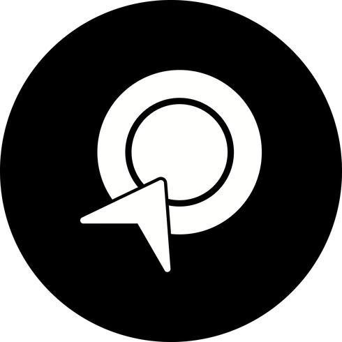Vektor-Pay-Per-Click-Symbol vektor