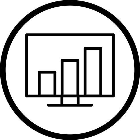 Vektorstatistik Ikon vektor