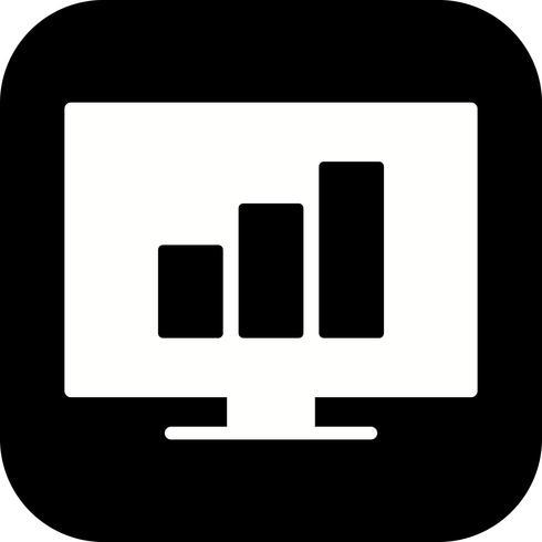 Vektorstatistik-Symbol vektor