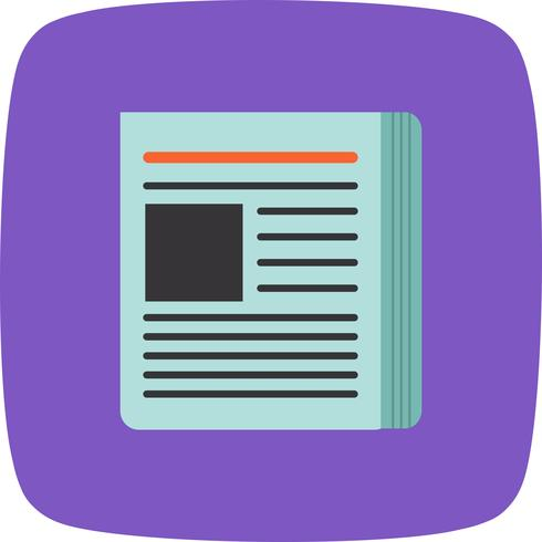 Vektor-News-Symbol vektor