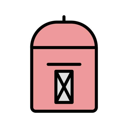 Vektor-Postfach-Symbol vektor