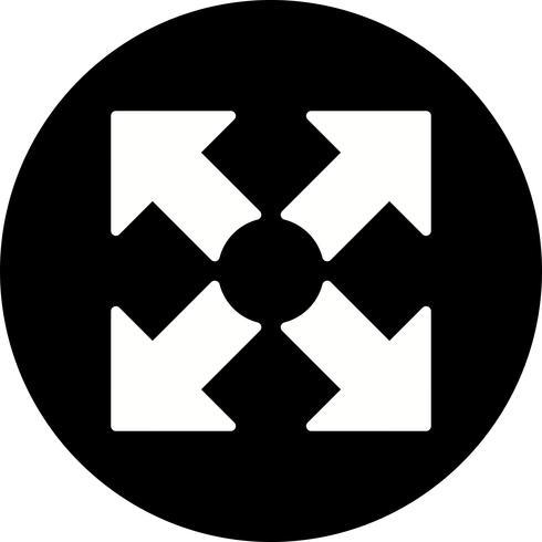 Vollbild-Vektor-Symbol vektor
