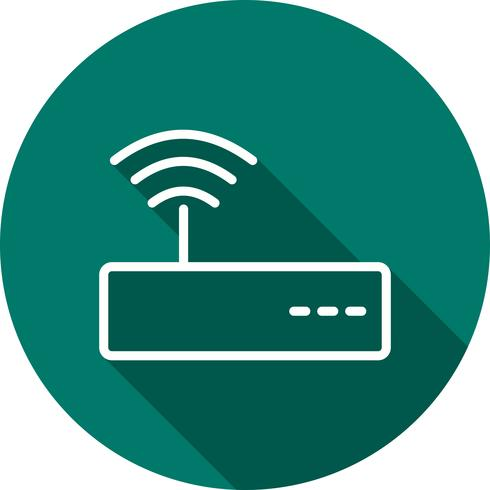 Vektor-WiFi-Symbol vektor