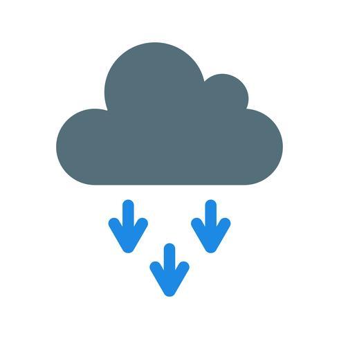 Presipitation-Vektor-Symbol vektor