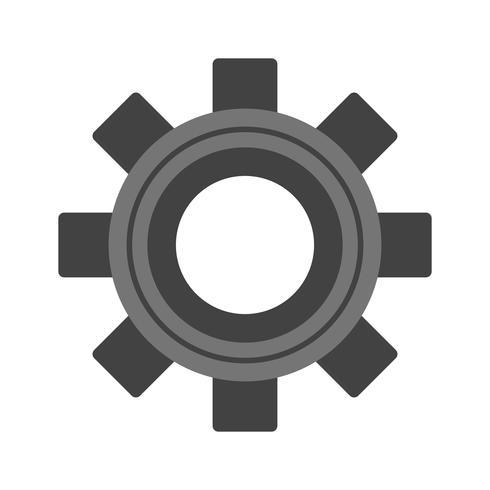 Vektor-Einstellungen-Symbol vektor