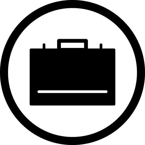 Vektor-Aktenkoffer-Symbol vektor
