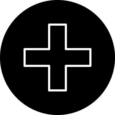 Plus-Vektor-Symbol vektor