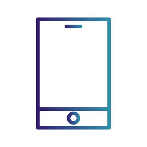 Vektor Smart Device-Symbol
