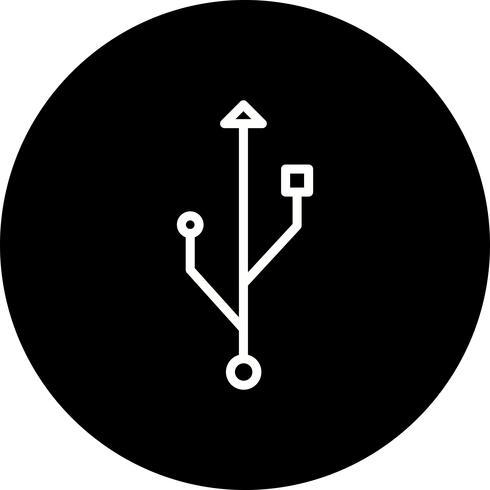 Verbindungs-Vektor-Symbol vektor