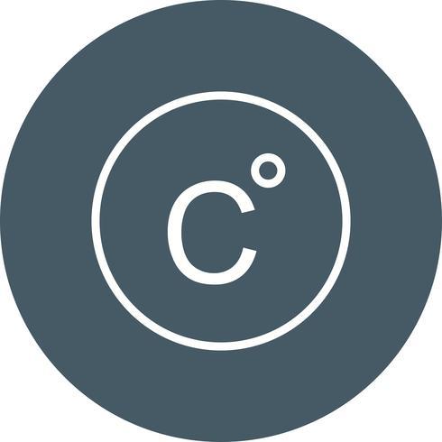 Celsius-Vektor-Symbol vektor