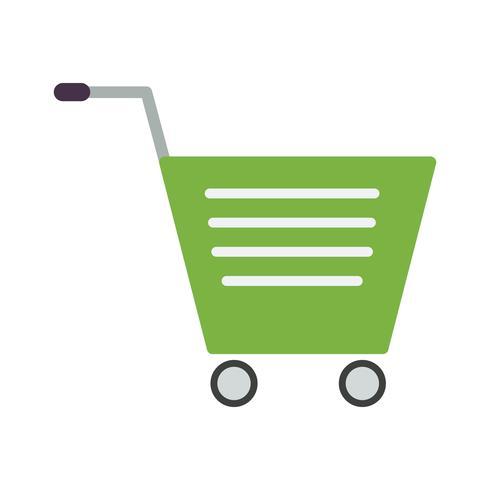 Vektor-Einkaufswagen-Symbol vektor
