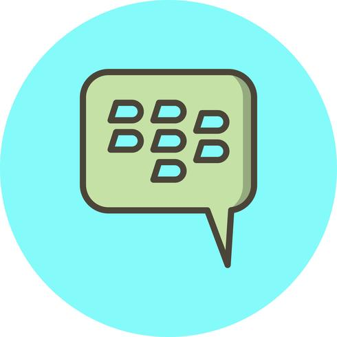 Blackberry-Vektor-Symbol vektor