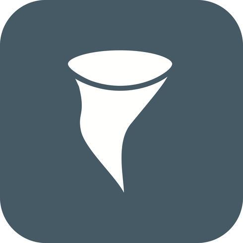 Tornado-Vektor-Symbol vektor