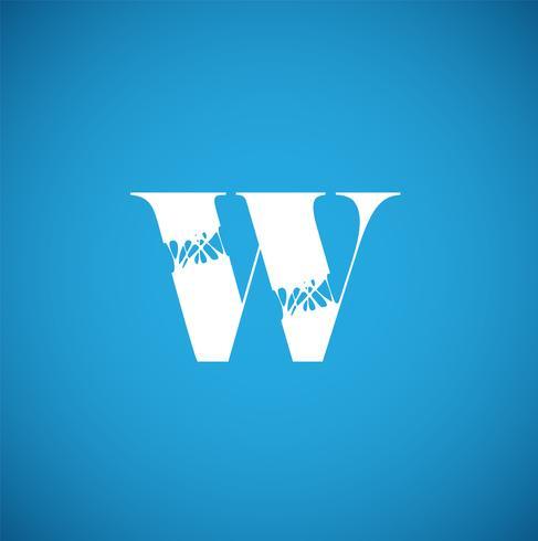 Flexy-Zeichen von einem Schriftsatz, Vektorillustration vektor