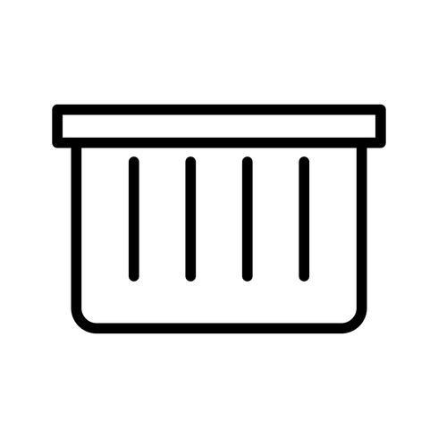Vektor-Korb-Symbol vektor