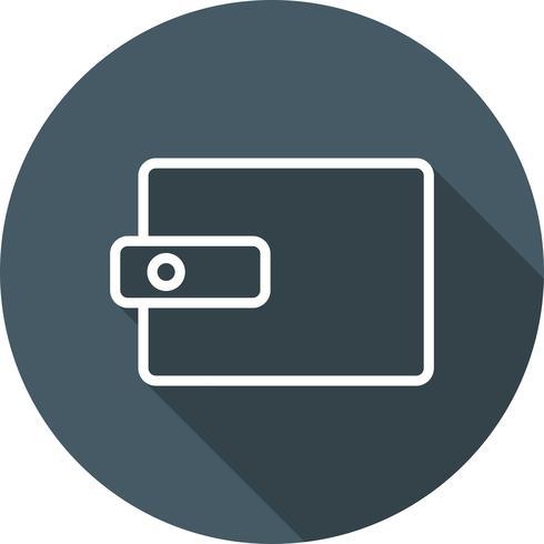 Vektor Plånbok Ikon