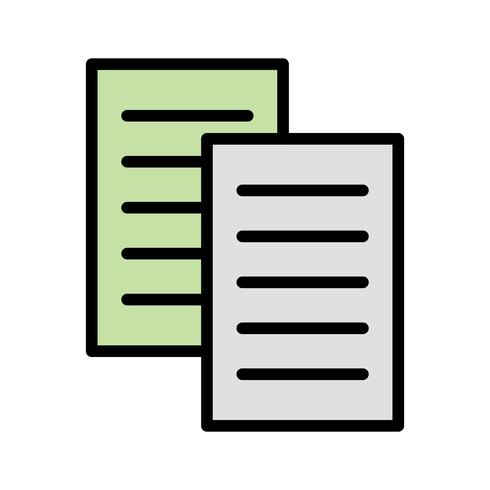Vektor-Dateien-Symbol vektor