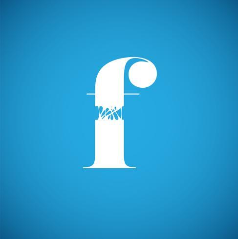 Flexy karaktär från en uppsättning, vektor illustration