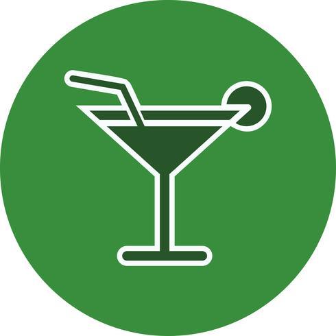Vektor-Cocktail-Symbol vektor
