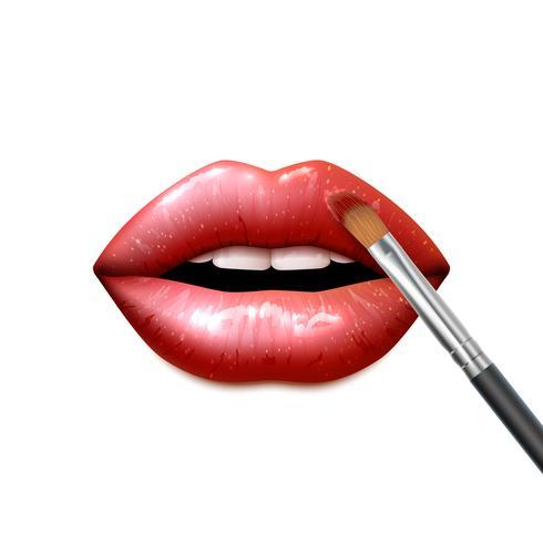 Lippen Zeichnen Lernen Detaillierte Schritt 11