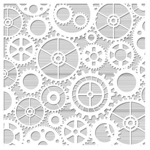 Laserskärning av stenciler för dekorativ konst vektor