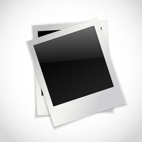 Fotoramar isolerade vektor