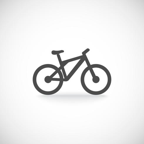 Fahrrad-Symbol vektor
