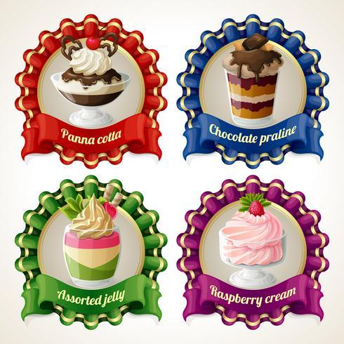 Süßigkeiten Band Banner vektor