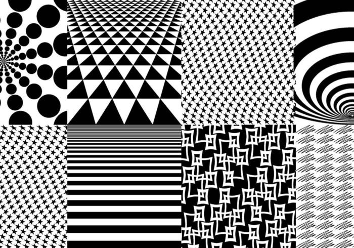 Geometrisches Muster Vector Pack