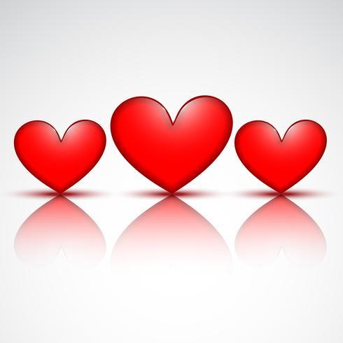 hjärta design vektor