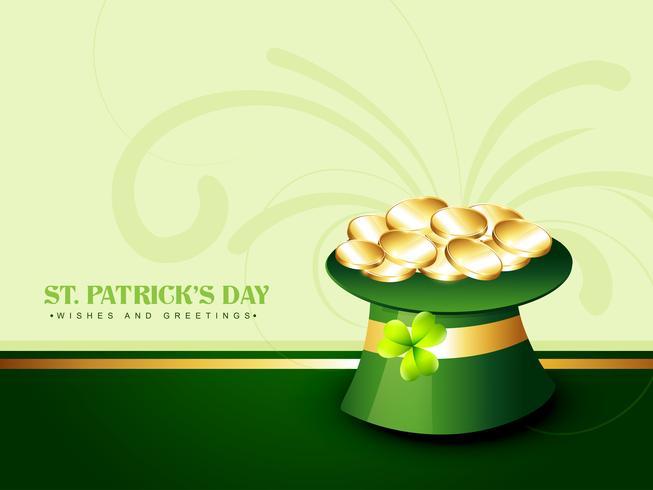 Hut des Heiligen Patrick Tages vektor