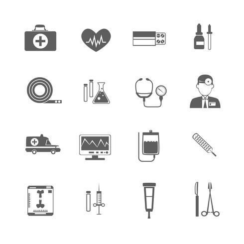 Einfaches medizinisches Symbol vektor